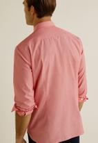 MANGO - Arnold shirt - bright red