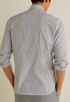 MANGO - Araceli shirt - grey