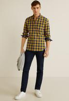MANGO - Claude shirt - yellow