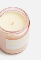 Typo - Aura candle - pink & gold