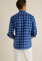 MANGO - Claude shirt - medium blue