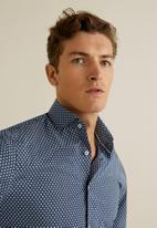 MANGO - Cacio shirt - navy