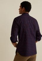 MANGO - Carolina shirt - navy