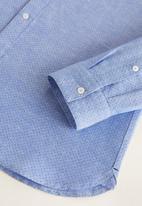 MANGO - Elvira shirt - navy blue