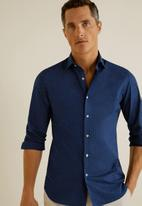 MANGO - Dasha shirt - navy
