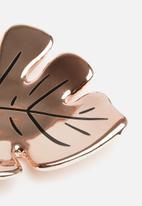 Typo - Novelty trinket tray - rose gold