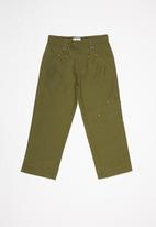 POP CANDY - Girls cargo pants - khaki