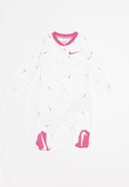 Nike - Nkg swooshfetti ftd coverall - white