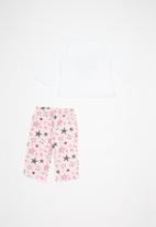 POP CANDY - Flannel fleece stars pajamas - multi