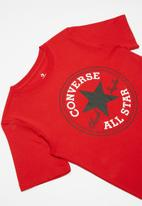 Converse - Cnvb chuck patch tee - red