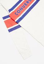 Converse - Cnvb 2 tone graph strip long sleeve tee - grey