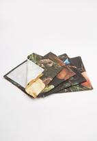 Hertex Fabrics - Mateo napkins - nero