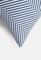 Sixth Floor - Herringbone cushion cover - teal