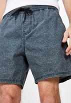 Cotton On - Hoff short - navy