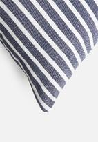 Sixth Floor - Madison woven cushion cover - blue
