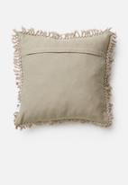 Sixth Floor - Eli waffel cushion cover - brown