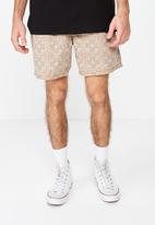 Cotton On - Hoff short - beige