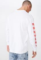 Cotton On - Tbar collaboration tee - white & red