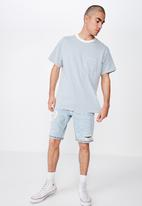 Cotton On - Graduate tee - white & blue