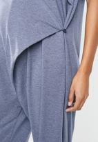 Superbalist - Wrap casual jumpsuit - blue