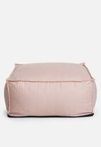 Sixth Floor - Poppy floor cushion - pink