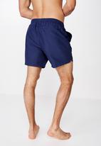 Cotton On - Basic swimshorts - navy