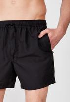 Cotton On - Basic swimshorts - black