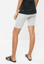 Superbalist - Maternity bicycle shorts with pockets - grey