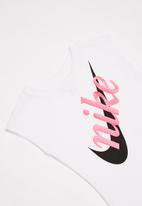 Nike - Nkg script futura modern short sleeve - white