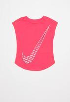 Nike - Nkg houndstooth swoosh - pink