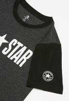 Converse - Cnvb colorblock all star ss t - black