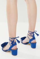 Madison® - Fringe detail heels - blue