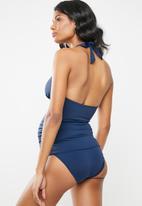 Jacqueline - Maternity Basic bikini bottom - navy