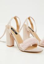MHNY by Madison - Bri heel - pale pink