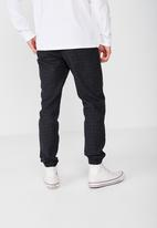 Cotton On - Drake cuffed pants - black & grey
