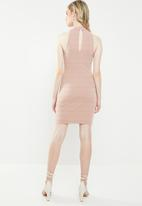 Superbalist - Poloneck dress - pink