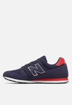 New Balance  - Ml373mbt - 70 's classic running - navy & red