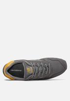 New Balance  - Ml373mct - 70 's classic running - grey & yellow