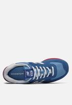 New Balance  - 574 - blue & red