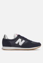 New Balance  - Wl220cld - 70 's classic running - navy & white