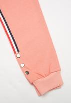 POP CANDY - Girls stripe joggers - pink