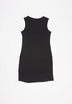 GUESS - Teens double tri jordan dress - black