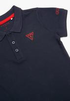 GUESS - Short sleeve guess core polo - navy
