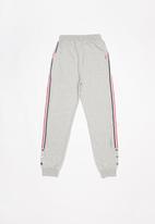 POP CANDY - Girls stripe joggers - grey