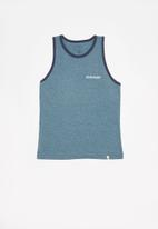 Quiksilver - Rise and shine tank tee - blue