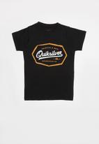 Quiksilver - Live on the edge tee - black