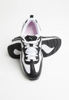 PUMA - Cilia - puma black-puma white-gray violet-puma silver