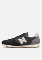 New Balance  - U220hb - 70 's classic running - black & white