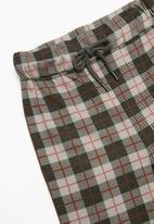 MINOTI - Boys checked long sleeve pyjama set - multi