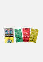 anatomicals - Because dreadful pores break all beauty laws face mask set